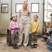 8416f8ac ... Tiril 7 Tirilgenser barn snøkrystall mønster* Sandnes garn. Previous;  Next