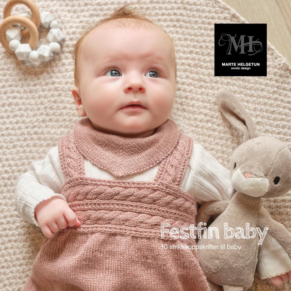Festfin Baby Marte Helgetun oppskrift SATURNIA GARN