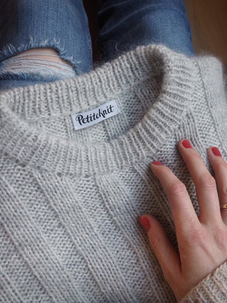 Striper På Langs Genser | Genser, Mønster strikking genser