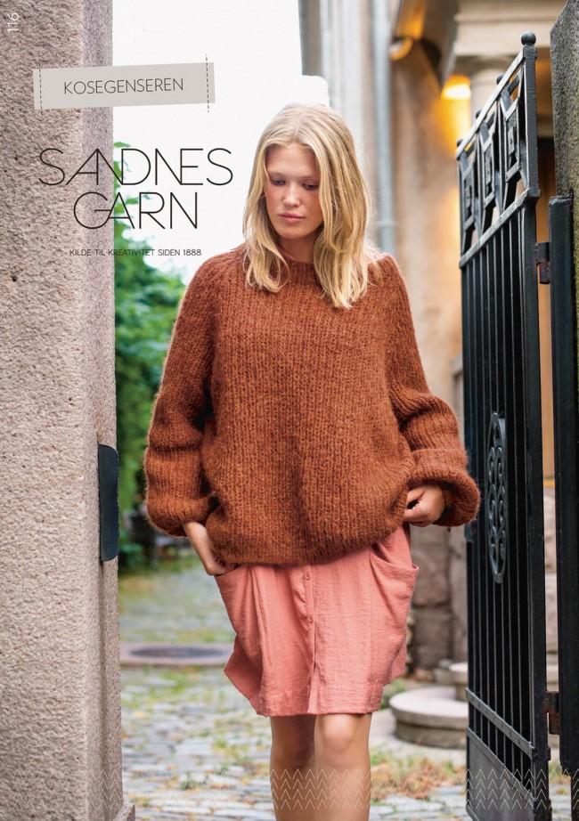 0540c7c0 116 Kose-genseren oppskrift Sandnes garn* - SATURNIA GARN
