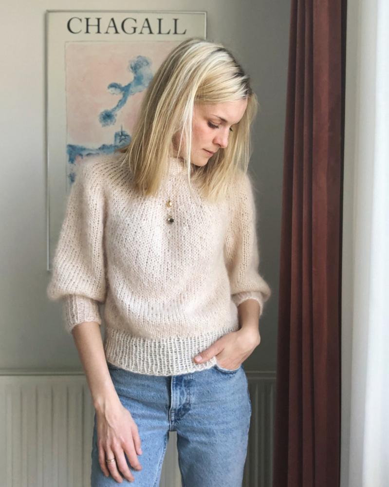 Saturday Night Sweater genser PetiteKnit mønster* SATURNIA